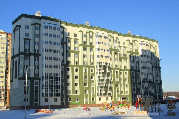 Многоэтажный жилой дом № 16, Московская область, г.Домодедово, мкр. Южный, ул. Курыжова, д.15, корпус 2.