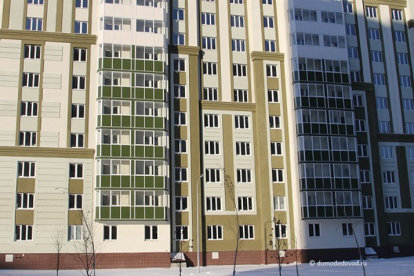 Многоэтажный жилой дом № 17, Московская область, г.Домодедово, мкр. Южный, ул. Курыжова, д.15, корпус 3.