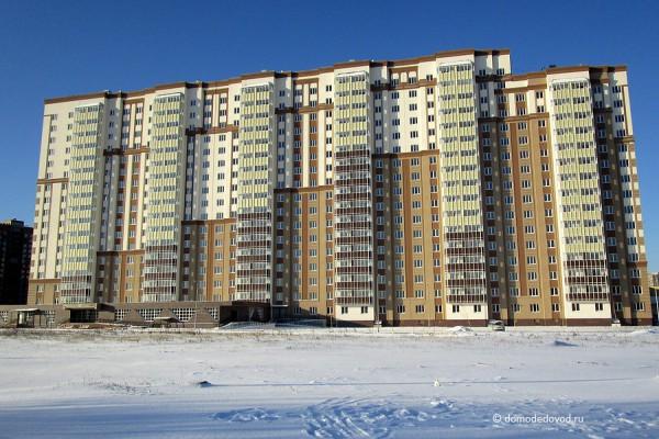 Многоэтажный жилой дом № 26, Московская область, г.Домодедово, мкр. Южный, ул. Курыжова, д.25.