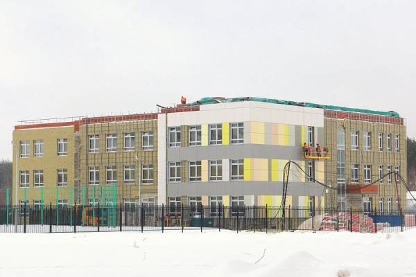 Новый детский сад в Новом Домодедово