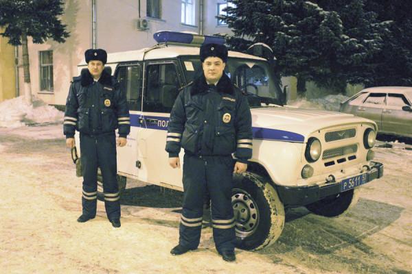 Домодедовские полицейские награждены медалями