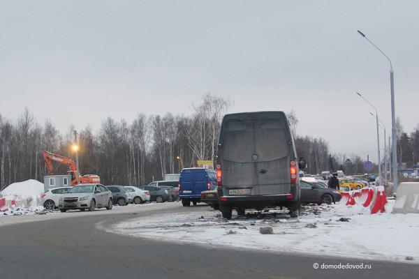 Строительство развязки на дороге А-105 около аэропорта Домодедово (8)