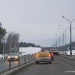 Ремонт дороги к аэропорту Домодедово с мая 2015 по июль 2016 гг