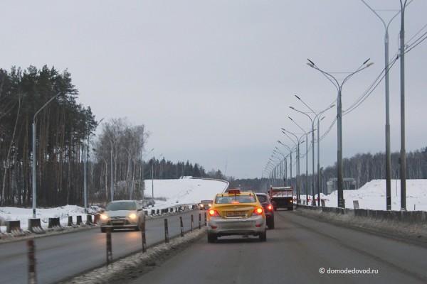 Строительство развязки на дороге А-105 около аэропорта Домодедово (7)