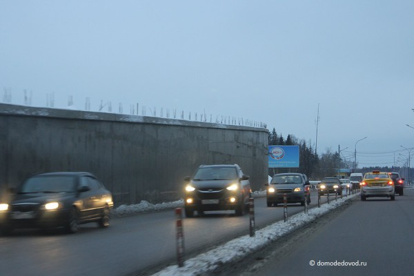 Строительство развязки на дороге А-105 около аэропорта Домодедово (6)