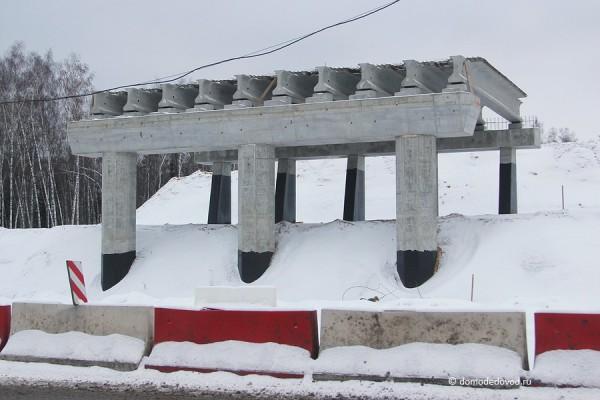 Строительство развязки на дороге А-105 около аэропорта Домодедово (5)