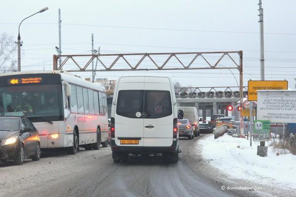 Строительство развязки на дороге А-105 около аэропорта Домодедово (4)