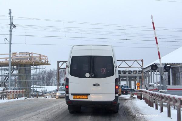 Строительство развязки на дороге А-105 около аэропорта Домодедово (2)