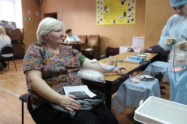 День донора в полиции Домодедово
