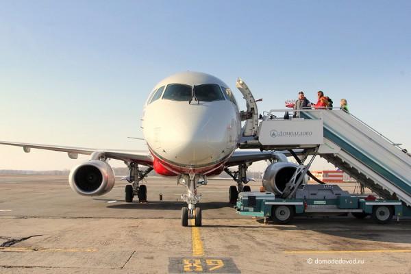 Sukhoi Superjet 100 авиакомпании Red Wings