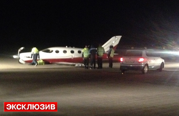 Аварийная посадка в Домодедово