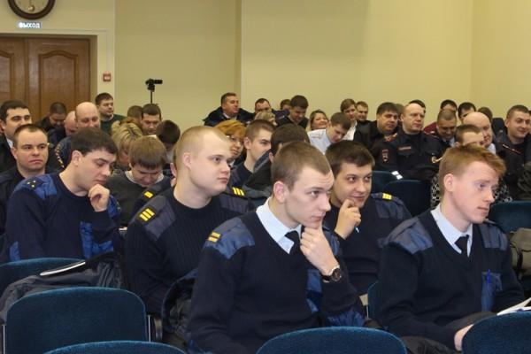 «Урок мужества и доблести сотрудников органов внутренних дел» в Домодедово
