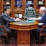Андрей Воробьев и Леонид Ковалевский. Фото с сайта Правительства Московской области