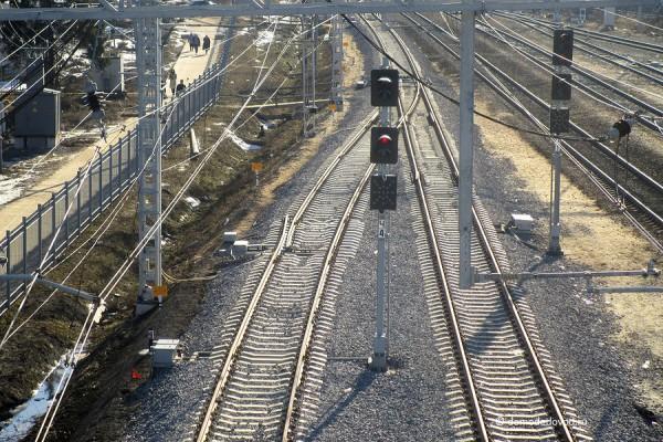 Железная дорога в Домодедово