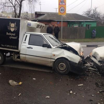 ДТП в Домодедово 23.04.2015 на улице Гагарина