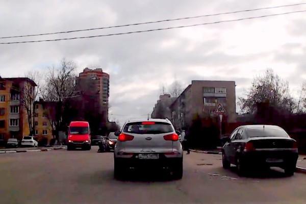 ДТП на улице Гагарина