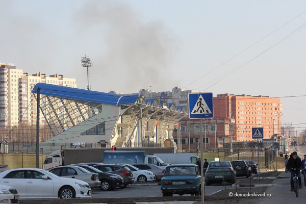 Дым на улице Кирова