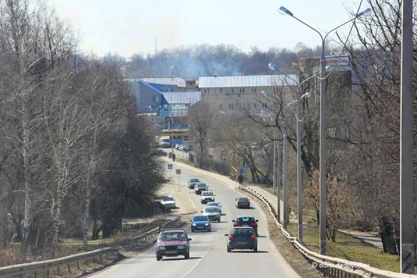 Пожар в Константиново