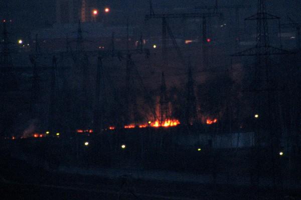 Пожар на подстанции «Пахра»