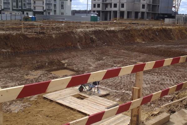 Закладка новой школы в Новом Домодедово