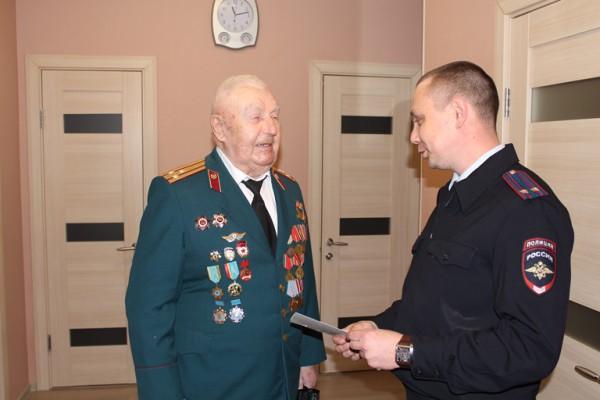 Ветеран МВД и ВОВ Смирнов Николай Павлович