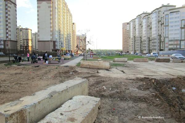 Аллея профессий в Новом Домодедово