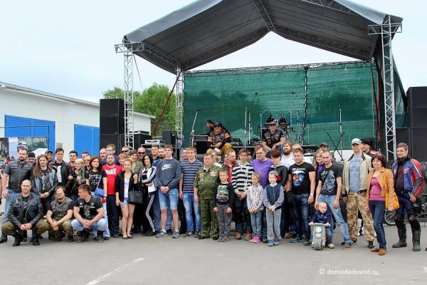 Байк-шоу в Домодедово