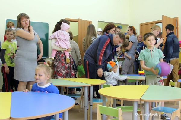 Детский сад «Улыбка». Комната группы