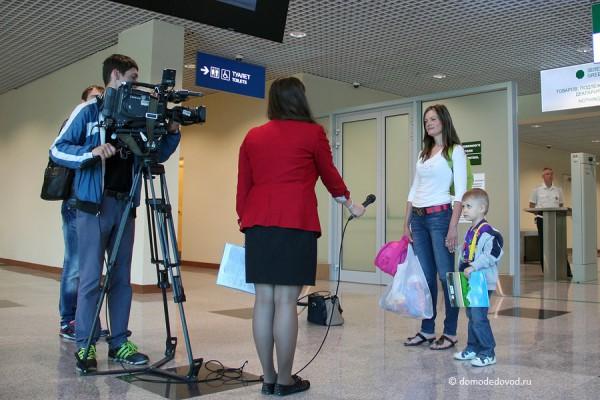 Открытие нового сегмента пассажирского терминала в DME