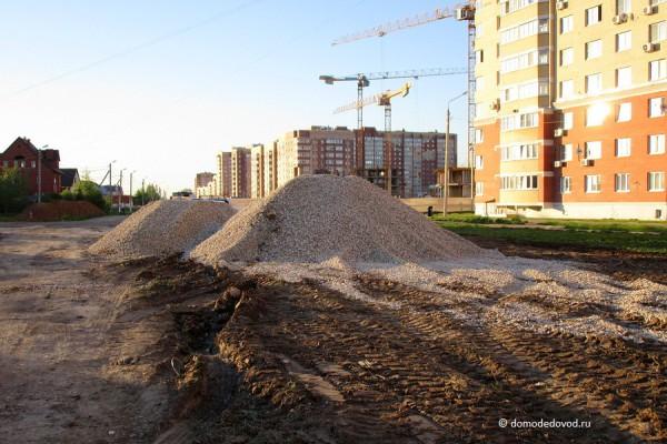 Строительство улицы Лунной