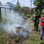 О запрете сжигания мусора