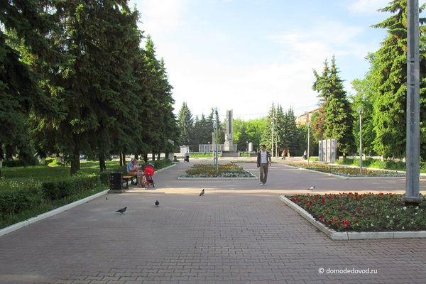 Пешеходная улица в Домодедово