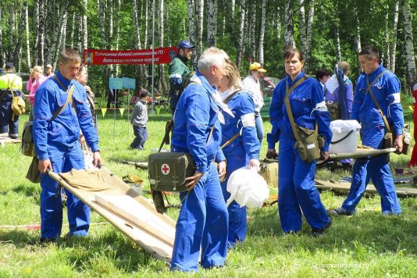 Учения по ГО и ЧС в Домодедово