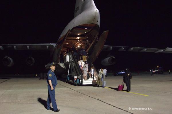 Ил-76 МЧС России в аэропорту Домодедово