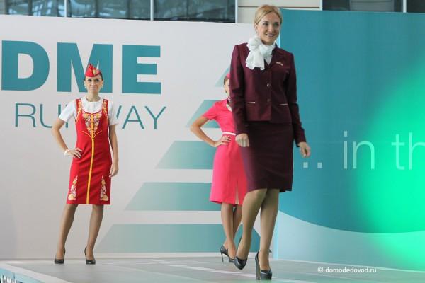 У авиакомпании Orenair есть несколько типов униформы. Каждая по-своему красива.