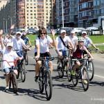 Велопробег в День Молодёжи