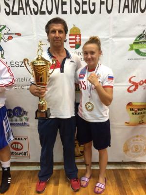 Чумгалакова Юлия из Домодедово - победитель Первенства Европы по боксу среди юниорок
