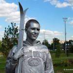 Живые статуи в Домодедово