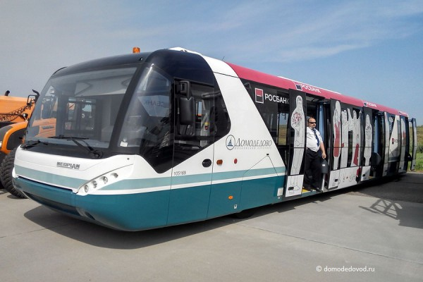 Перронный автобус аэропорта Домодедово