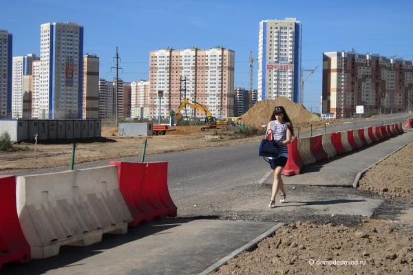 Дорога и тротуар в Южное и Новое Домодедово (29)