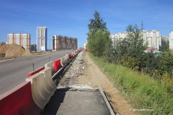 Дорога и тротуар в Южное и Новое Домодедово (24)