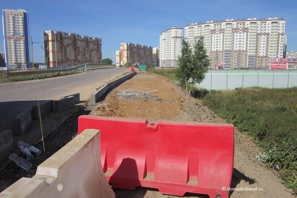 Дорога и тротуар в Южное и Новое Домодедово (19)