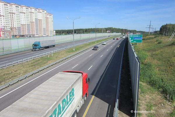 Дорога и тротуар в Южное и Новое Домодедово (18)