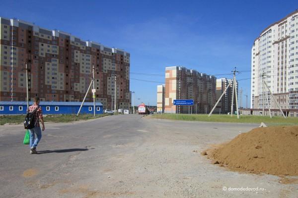 Дорога и тротуар в Южное и Новое Домодедово (13)