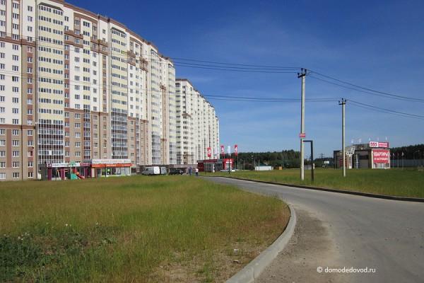 Дорога и тротуар в Южное и Новое Домодедово (12)