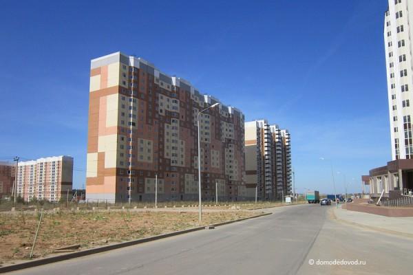 Дорога и тротуар в Южное и Новое Домодедово (9)