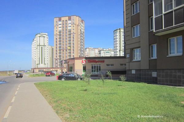 Дорога и тротуар в Южное и Новое Домодедово (6)