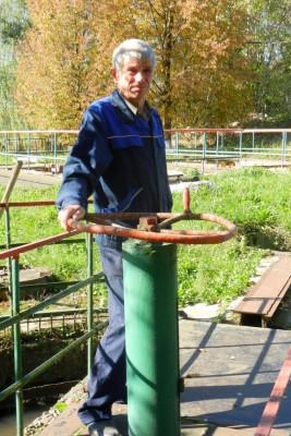 Иванов Сергей Александрович, слесарь АВР 5 разряда водопроводно-канализационного участка №4 (КС)