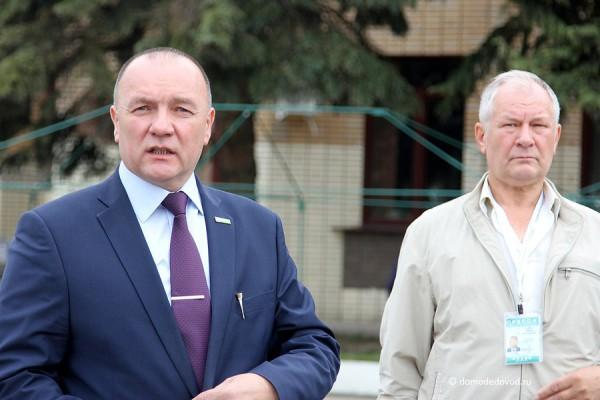 Александр Гунько и Валерий Задерей