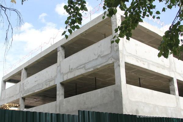 Многоуровневая парковка мост-11